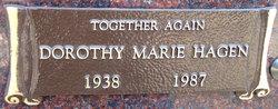 Dorothy Marie <i>Hoff</i> Hagen