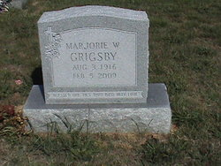 Marjorie Williams Grigsby