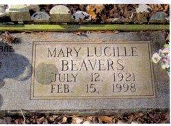 Mary Lucille <i>Hooker</i> Beavers