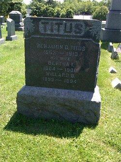Bertha I. <i>Swartfiguer</i> Titus