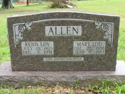 Mary Lou <i>Turney</i> Allen