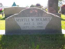 Myrtle W. Holmes