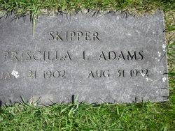 Priscilla L. Skipper <i>Ripley</i> Adams