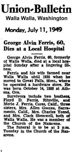 George Alvin Ferris