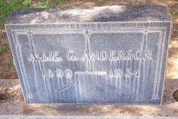 Allie G. <i>Pridgen</i> Anderson