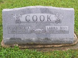 Laura May <i>Pusey</i> Cook