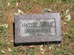Harriet Hattie Abbey
