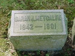 Sarah Jane <i>Brown</i> Metcalfe