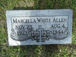 Marcella <i>White</i> Allen