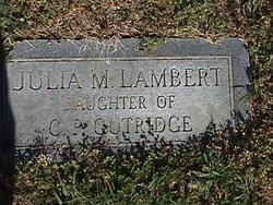 Julia Mae Lambert