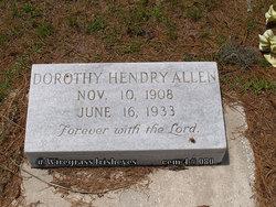 Dorothy Dix <i>Hendry</i> Allen