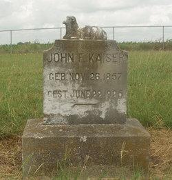 John F. Kaiser