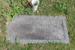 Frank H Niper, Sr