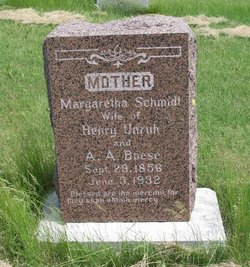 Margaretha <i>Schmidt</i> Boese