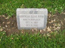 Gertrude <i>Fluke</i> Piper