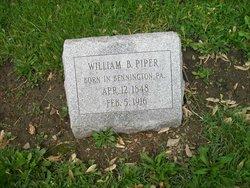 William B Piper
