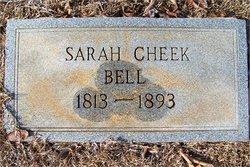 Sarah Ann <i>Cheek</i> Bell