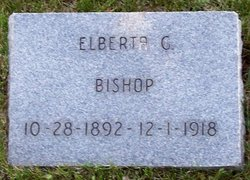 Alberta G Bishop