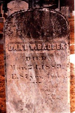Daniel Webb Badger