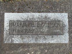 Marjorie Emma <i>Horton</i> Goetsch