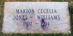 Marion Cecelia Jones-Williams