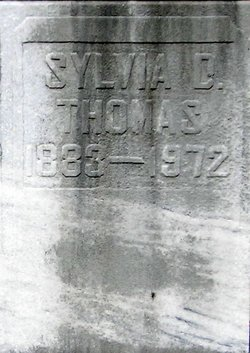 Sylvia D <i>Williams</i> Thomas