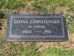 Leona <i>Hudson</i> Christensen