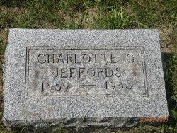 Charlotte G Lottie <i>Tabor</i> Jeffords