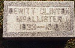 Dewitt Clinton McAllister