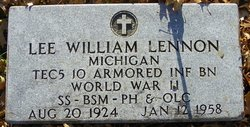 Lee William Lennon