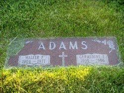 Walter F Adams