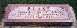 Julia Bridget <i>Barry</i> Blake