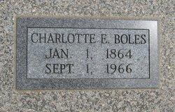 Charlotte Elizabeth <i>Oldfield</i> Boles