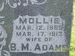 Mollie <i>Mussick</i> Adams