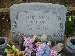 Mary <i>Wiese</i> Lastor