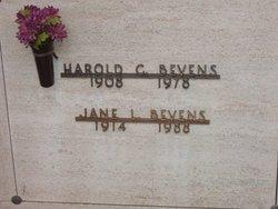 Harold C. Bevens