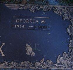 Georgia M Cox