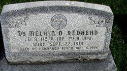 Sgt Melvin D Redhead