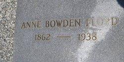Anne <i>Bowden</i> Floyd