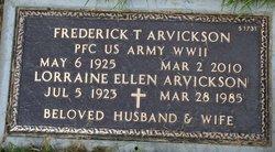 Frederick Theodore Arvickson