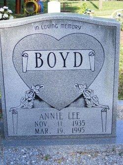 Annie Lee Boyd