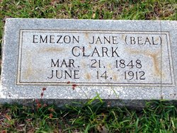 Emezon Jane <i>Beal</i> Clark