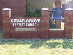 Cedar Grove Baptist Church Cemetery