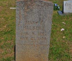 Mary Elizabeth <i>Smith</i> Halbert