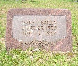 Mary Frances <i>Force</i> Bailey