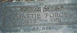 Mattie F. <i>Allen</i> Ellis-Force