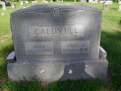 Margaret Alice <i>Young</i> Caldwell