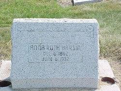Anna Ruth <i>Lane</i> Harsin