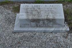 Corp Larry B. Akins