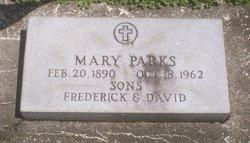 Mary <i>Scott</i> Parks